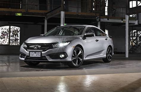 2017 honda civic sedan 2017 honda civic sedan on sale in australia in june 1 5