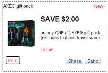 axe holiday gift pack coupon