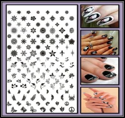 How To Make Nail Stencils At Home