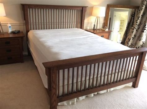 Mission Style Bed Frame Bed Frame Headboard Footboard Mission Style Qualicum Nanaimo Mobile