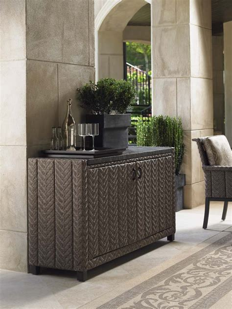 Outdoor Console Table With Storage Sideboards Stunning Rattan Sideboards And Buffets Outdoor Wicker Buffet Server Wicker Buffets