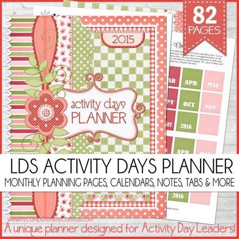 Activity Day On Activity Days 2015 lds activity days planner organizer lds 2014 bonus pages pr