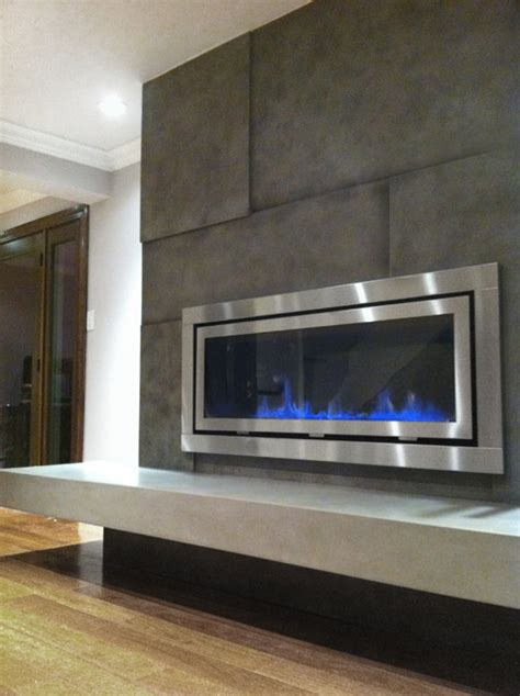 Fireplace Surround   Contemporary   Living Room   New York