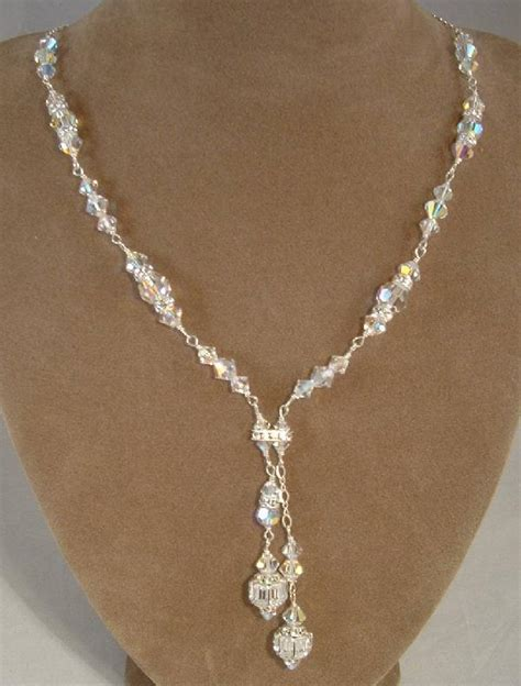 swarovski bridal necklaces custom swarovski