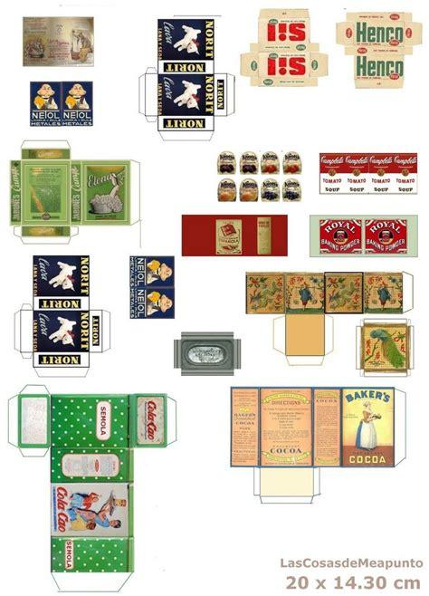 Miniature Printables Food 6 best images of printable miniature food miniature