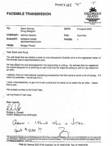 Offer Letter With Annexure Daydream Island Dreamisland Annexure H