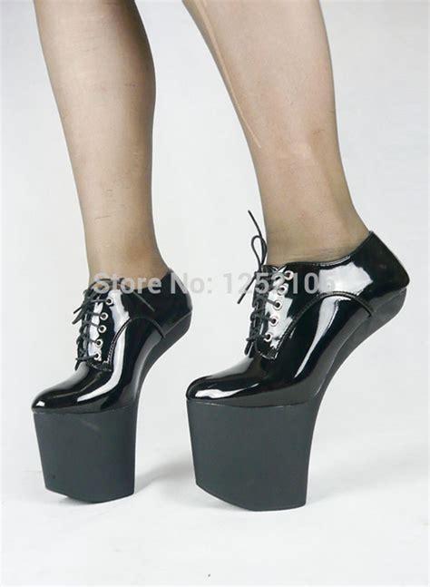 new high heel 20cm heelless with platform 8 inch