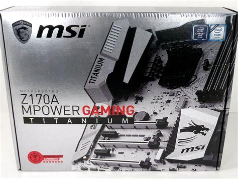 Msi Z170a Mpower Gaming Titanium Edition Lga1151 Z170a Ddr4 msi z170a mpower gaming titanium intel lga1151 review techpowerup