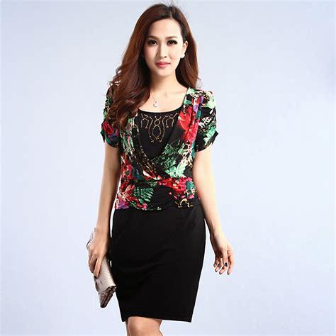 Baju Dress Wanita Leaf Dress model baju wanita dress koleksi baju wanita
