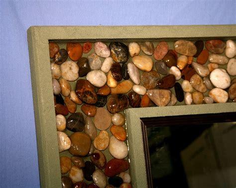 polished river rock mirror  jcame  lumberjockscom