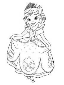 descargamos dibujos colorear la princesa sof 237