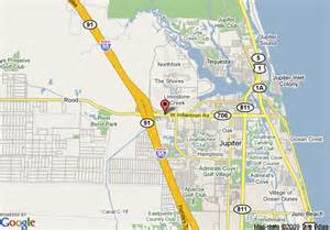 map jupiter florida map of fairfield inn jupiter jupiter