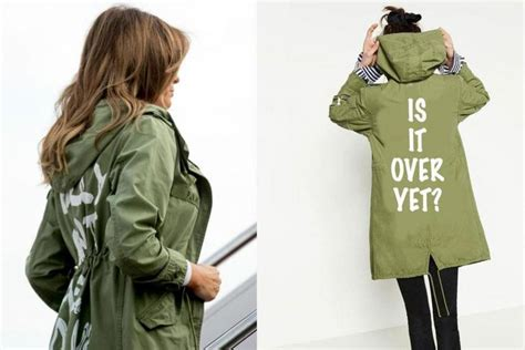 melania jacket five things i don t care could