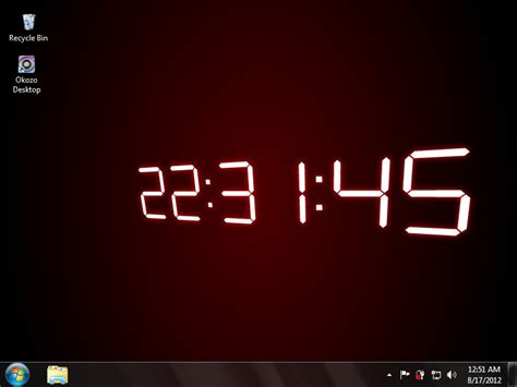clock themes for pc desktop waptrick themes digital colck download new calendar