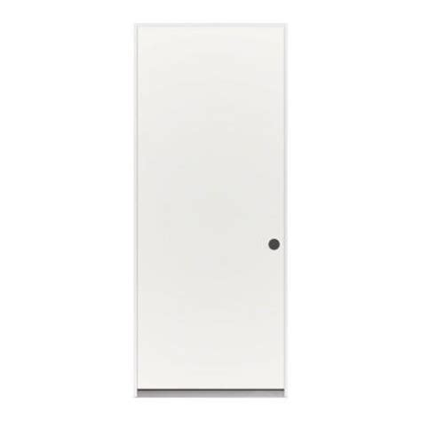 Flush Entry Door by Flush Primed White Steel Prehung Front Door 710584 The