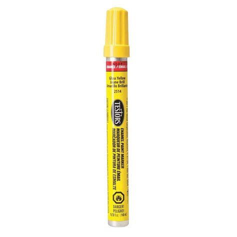 home depot paint markers testors yellow gloss enamel paint marker 6 pack 2514c