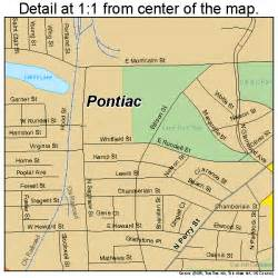Pontiac Michigan County Pontiac Michigan Map 2665440