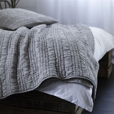 gray ruched comforter ruffle ruched grey bedspread french bedroom company