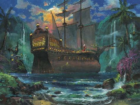 painting disney artist coleman limited edition giclee on canvas