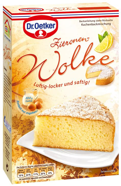 Dr Oetker Kuchen Zitronen Wolke Kaufen Bei Lieferello