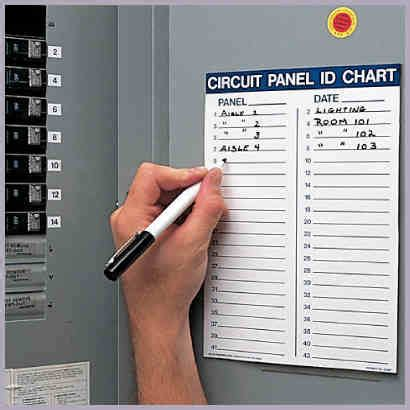 circuit breaker panel labels template circuit panel id