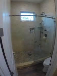 installing glass shower doors sliding glass shower doors patriot glass and mirror