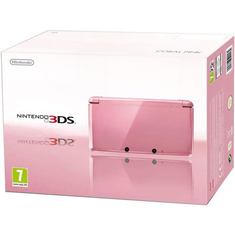 3ds Sun By Mj Hardware nintendo 3ds coral pink nintendo uk store