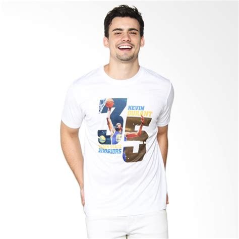 Lp Kaos T Shirt Kd Kevin Durant jual levelwear nba golden state warriors kevin durant embedded all white kaos basket js52d