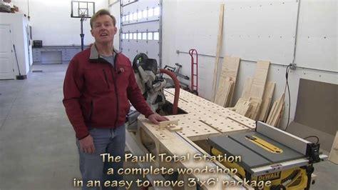 paulks portable woodshop xx pts youtube
