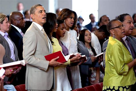obama s president obama and first family spend easter service at
