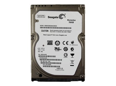 Hardisk 500gb Ata storage drives seagate st9750420as momentus 750gb 7200rpm serial ata 3 0gbps 16mb