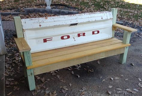 truck bench tailgate bench the garage journal board tail gates