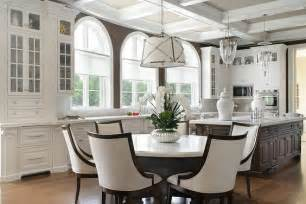 Kitchen Islands That Seat 6 clean and sophisticated this 2017 white kitchen design is