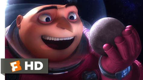 Despicable Me 11 despicable me 11 11 clip gru shrinks the moon