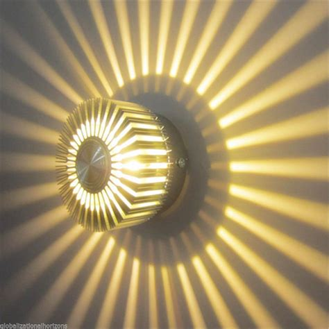 Sun Flower Led Ceiling Wall Light Ac85v 265v 3w Led Price Of Lights