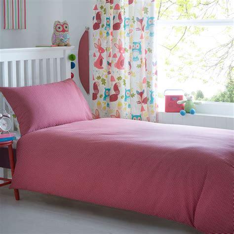 Fox Bedding by Wildwood Animal Single Duvet Cover Set Bedding Fox Owl Rabbit New Ebay