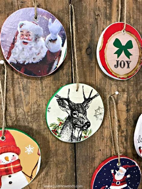 easy diy wooden christmas ornaments