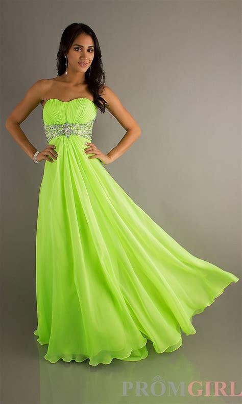 Dress Lime fashion lime green sweetheart prom dress ruffles crtstal