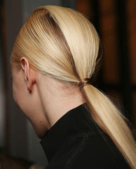 ponytail hairstyles 2013 14 low ponytail hair trend 2013 hairstyle trends from fashion week