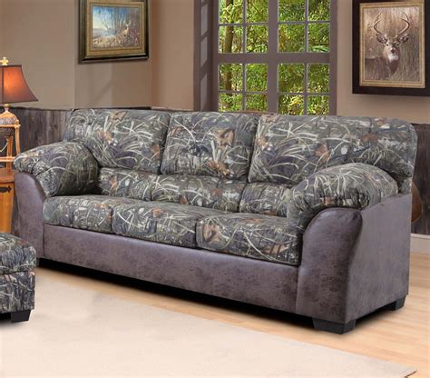 Camo Reclining Sofa Duck Commander Sofa In Camouflage Fabric The Duck Commander Furniture Line Includes Recliners