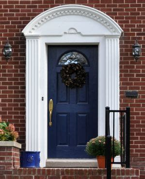 curb appeal meaning what does a blue front door feng shui for your home