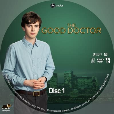 the good doctor season 1, disc 1 dvd covers & labels