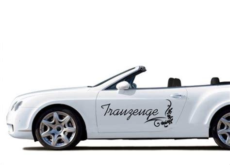 Auto Sticker Hochzeit by Autoaufkleber Hochzeit Trauzeuge Mit Ornament