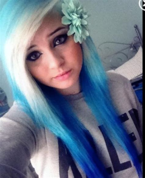 dyed layered hairstyles 106 best images about dyed hair on pinterest reverse