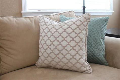 diy tutorial diy pillowcases diy sew a pillow with piping