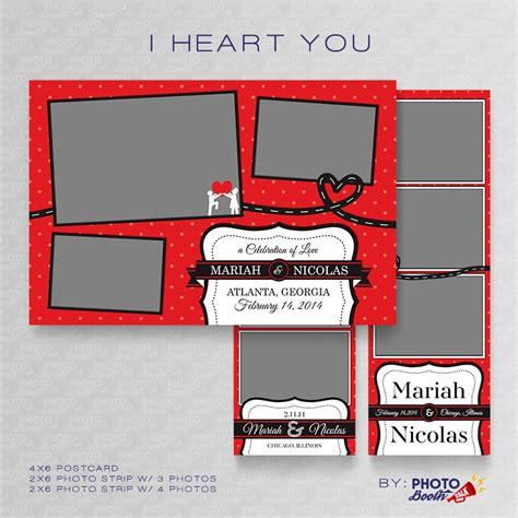 booth design for valentines i heart you photoshop psd files photo booth talk