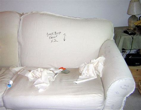 How To Make Slipcover For Sectional Sofa by How To Make A Slipcover For A Craft Ideas