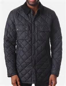 akenside s quilted jacket navy