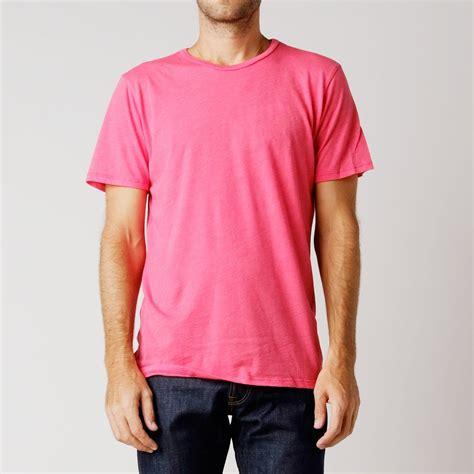 Tshirt Tomei Bdc denim co sleeve crew neck recycled plastic