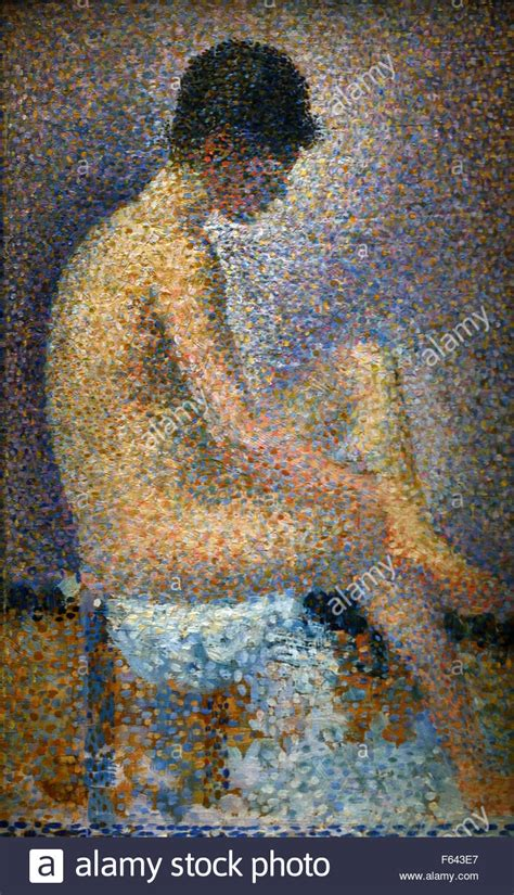 seated model side view 1887 georges seurat oil poseuse de profil poseuse profile 1887 georges seurat